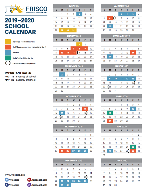 2019 20 school calendar approved